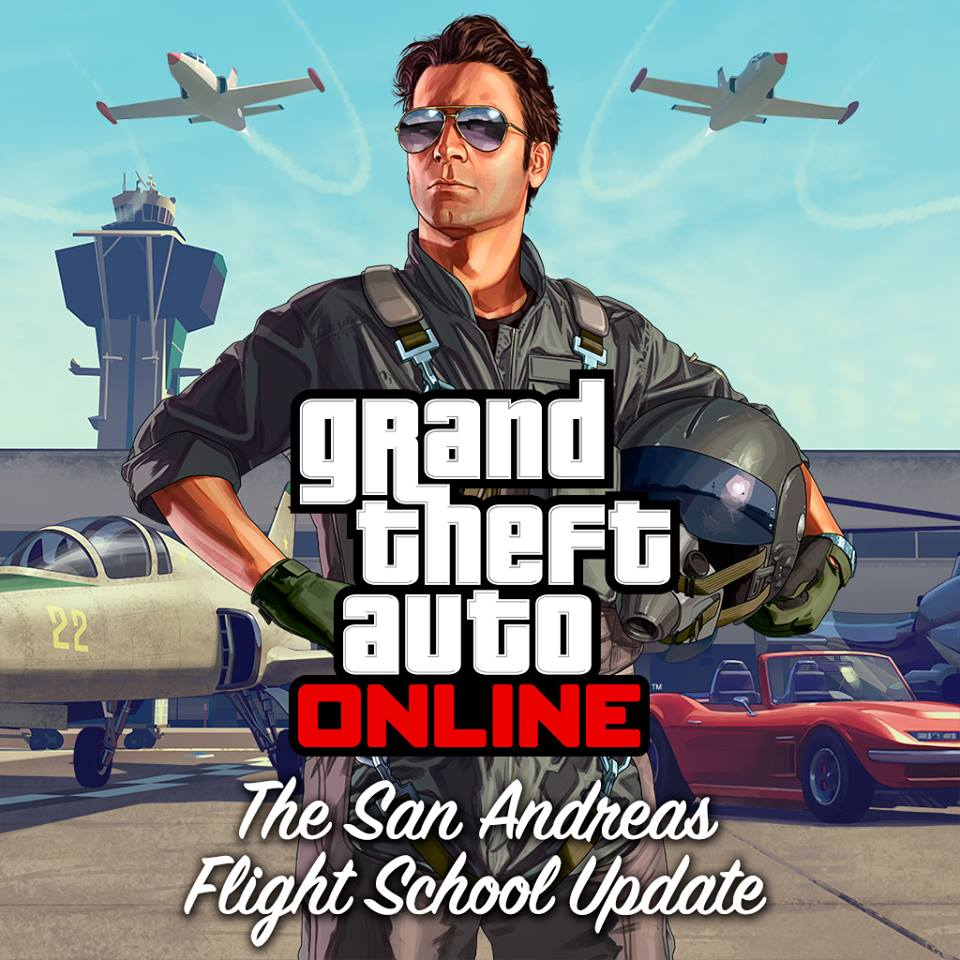 The San Andreas Flight School DLC Available Now For GTA Online