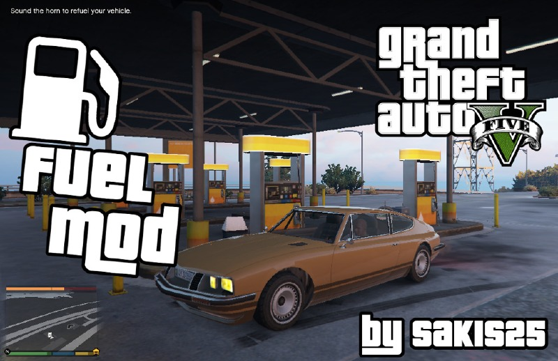 Fuel Script V Mod 0.8 For GTA V