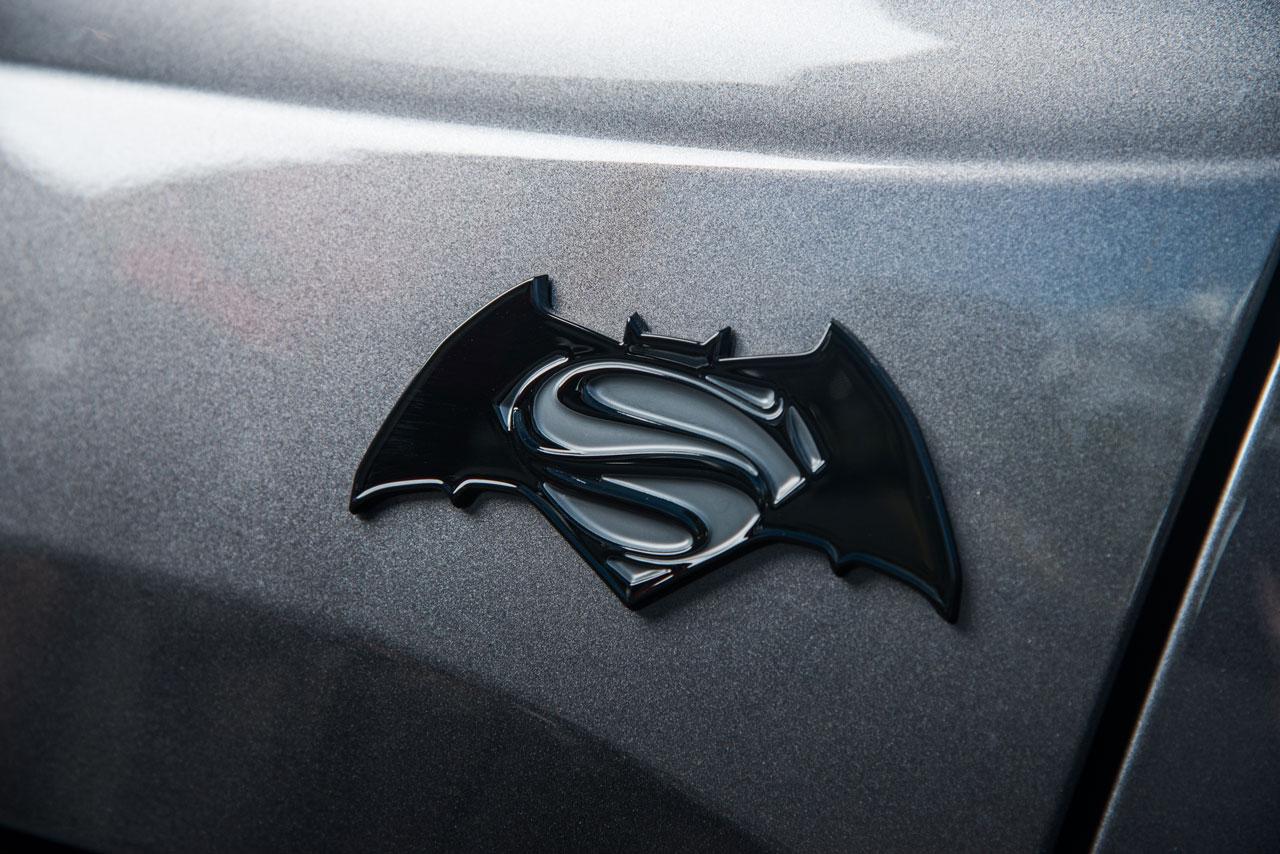 Batman v Superman Jeep Looks Slick AF