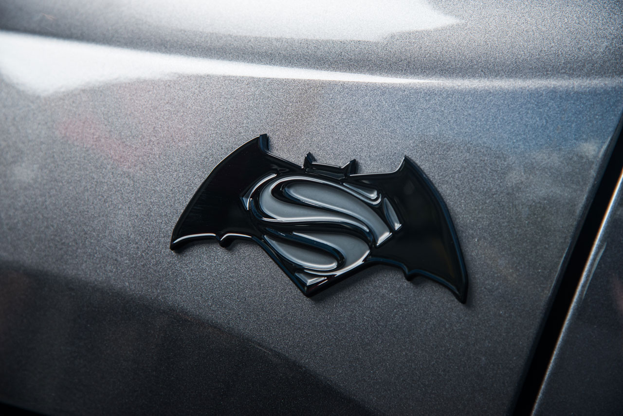 Batman v Superman Jeep Looks Slick AF
