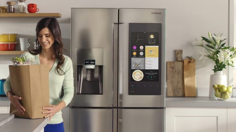 samsung fridge smart