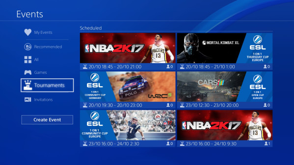 ESL to Power PlayStation 4 Competitive Gaming