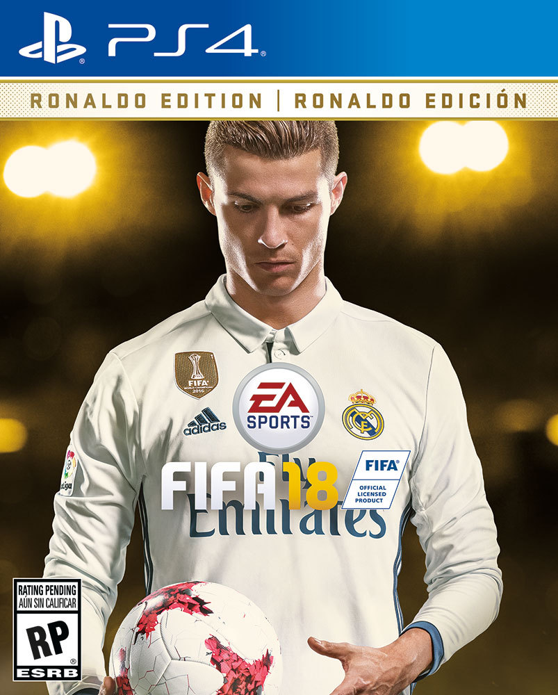 Ronaldo To Appear on FIFA 18 Cover