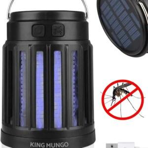 Campinglamp solar anti-mug