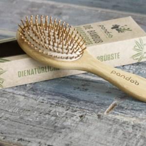 Pandoo natuurlijke haarborstel