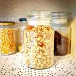 Plantaardige zerowaste granola