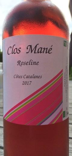 Roseline 2017 - Clos Mané