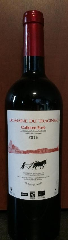 Collioure rosé 2013 - Traginer