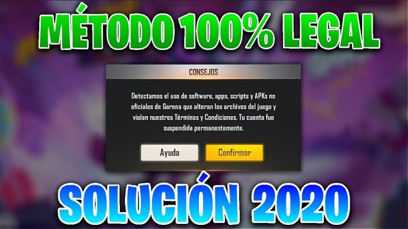 COMO RECUPERAR CUENTA BANEADA EN FREE FIRE 2020