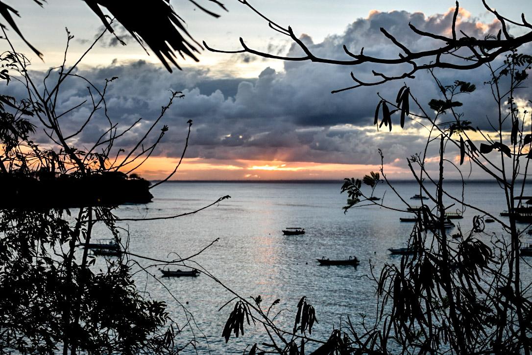 Coucher de soleil à Lembongan