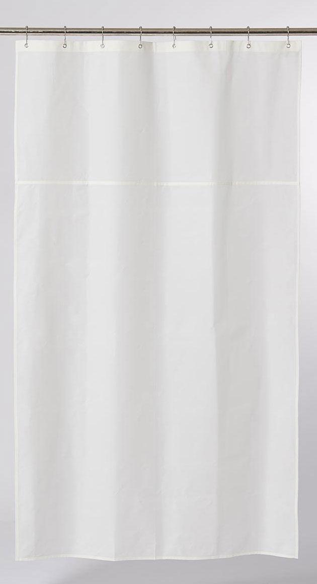 non toxic textile shower curtain