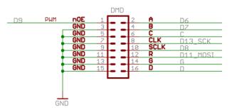 led matrix kabel