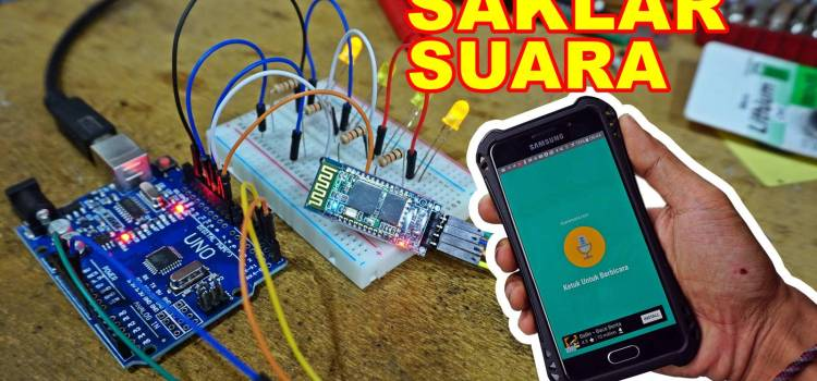 Membuat Saklar Suara Berbasis Arduino