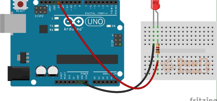 Belajar LED Berkedip Arduino