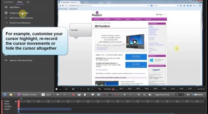 BB Flash Back Pro full – Phần mềm quay phim màn hình nhỏ gọn bản đầy đủ
