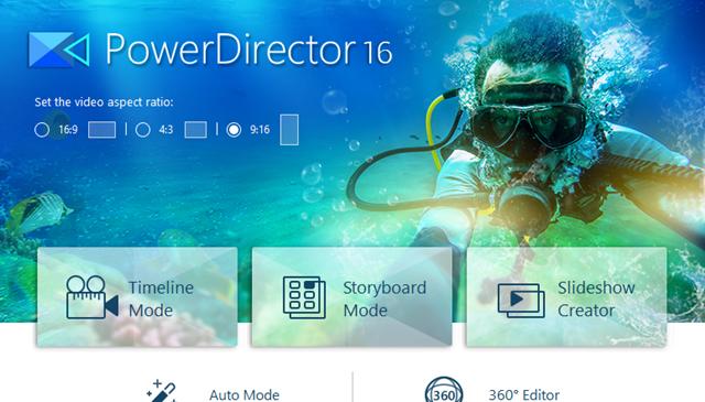 Cyberlink PowerDirector 16 full – Chỉnh sửa biên tập video chuyên nghiệp