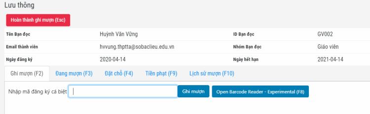 Quản lý thư viện online DA-LMS