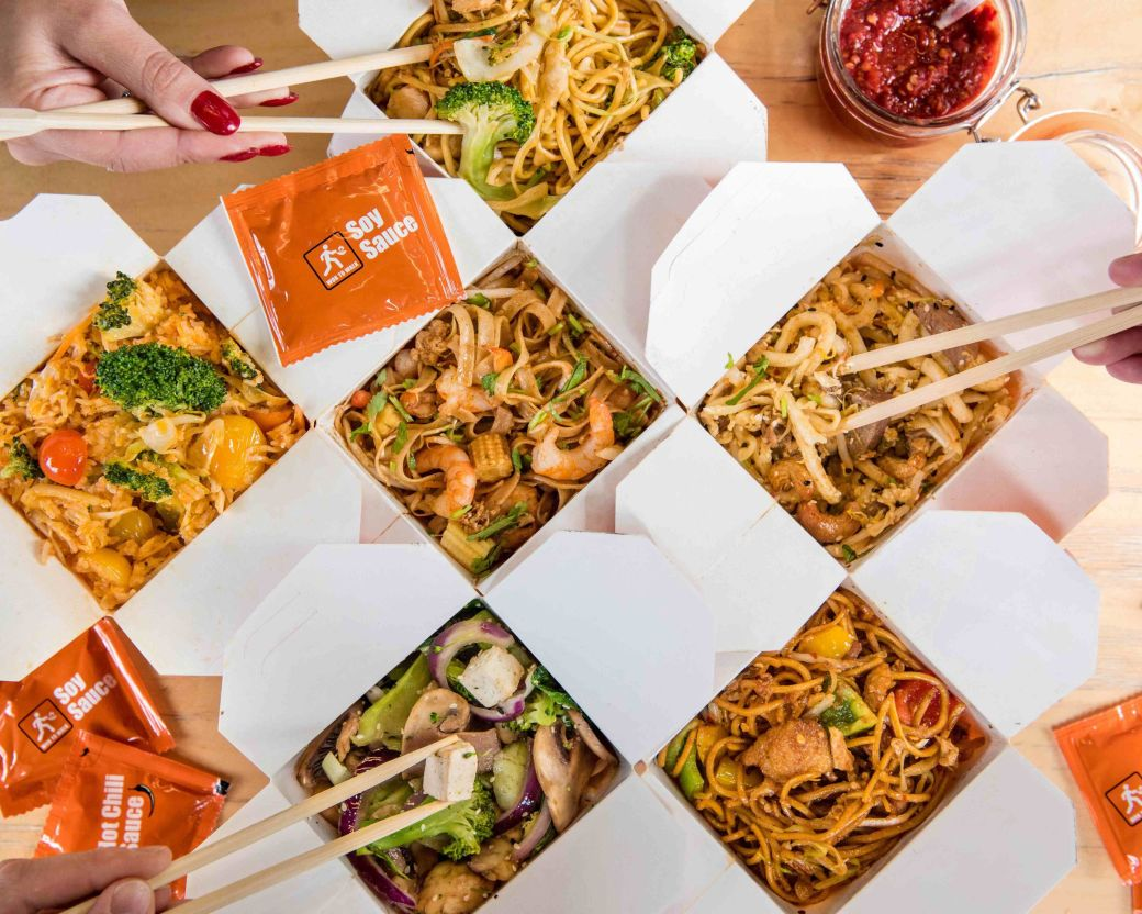 Image result for wok to walk bento box