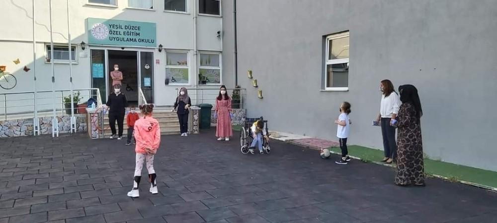 Özel öğrencilere özel etkinlik düzenlendi