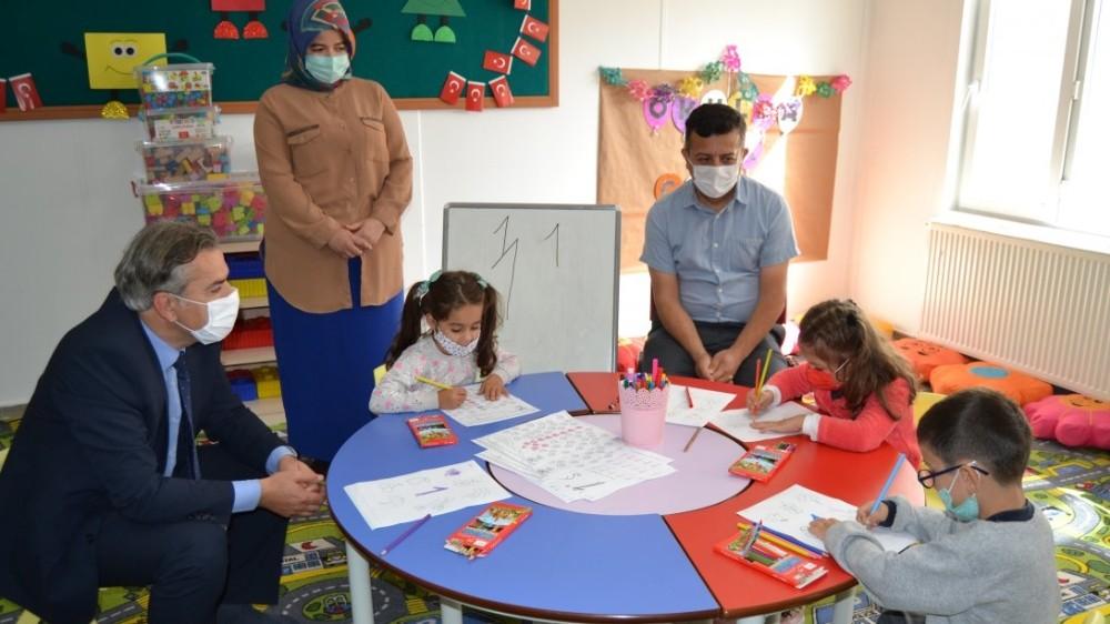 Müdür Yiğit'ten köy okullarına ziyaret