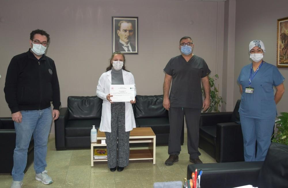 """Düzce Üniversitesi Hastanesi """"Sıfır Atık Belgesi"""" Almaya Hak Kazandı"""