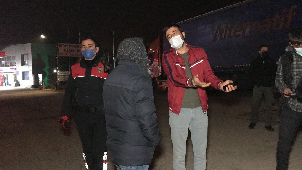İzmir'de geçerli izin kağıdı ile Düzce'ye geldiler cezayı yediler