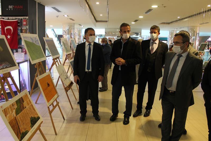 Tarım, Orman ve İnsan konulu fotoğraf sergisi açıldı