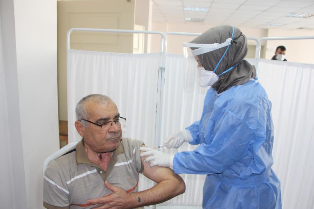 Düzce'de 9 bin 423 kişi aşılandı