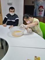 Özel öğrenciler hünerlerini telafi eğitiminde gösterdiler