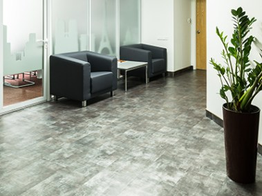 Vinyl Planks (LVT) Podium Pro 30 - Steel Anthracite2