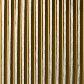 ColourTex Gold PinStripe