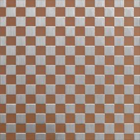 ColourTex Rosy Gold Checks