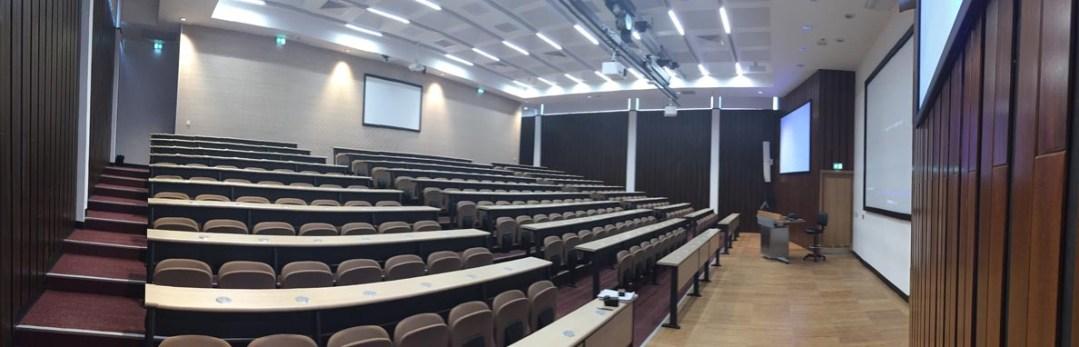 Malta university auditorium devalier projects