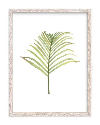 """I'm Frond of You No. 1"" - Art Print by Andi Pahl in beautiful frame options and a variety of sizes."