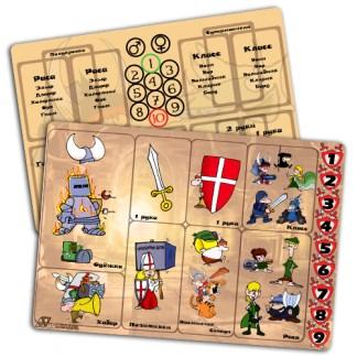 Менеджеры карт для Манчкина (комплект 6шт)