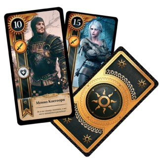 Ведьмак 3: Гвинт. The Witcher: Gwent. Колода Нильфгаард. Nilfgaardian Empire Gwent deck
