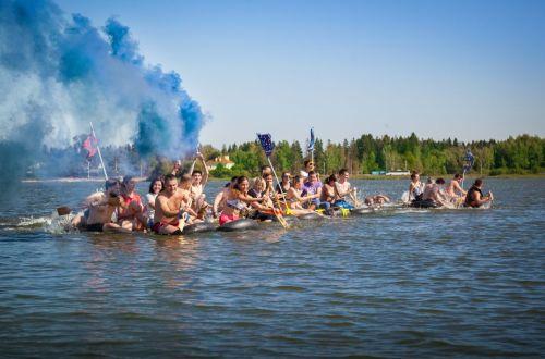 Тимбилдинг на озере