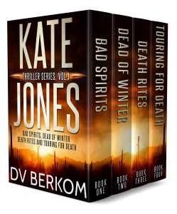 Cover for the Kate Jones Thriller Series box set