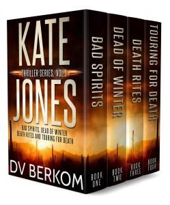 Cover for the Kate Jones Thriller Series box set