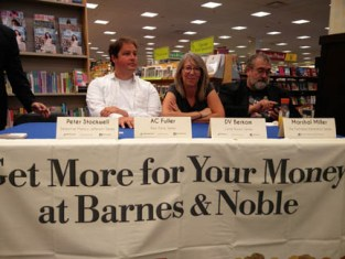 DV Berkom at Barnes and Noble author panel