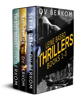 Leine Basso thrillers box set cover