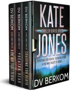 cover for Kate Jones thriller series, vol. 2