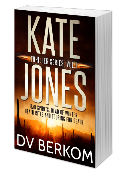 image of Kate Jones Thriller Series, Vol. 1 paperback