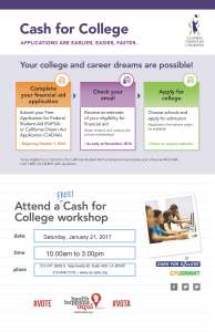 Cash4College 2017 Flyer CO-OP