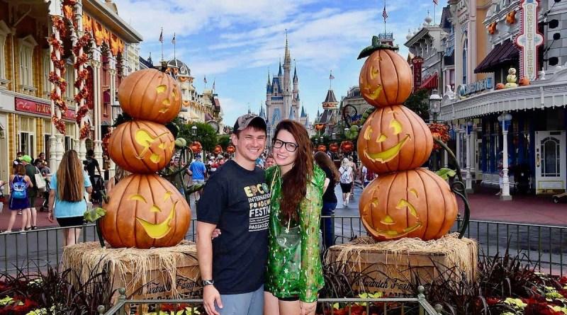 Magic Kingdom Fall Decorations