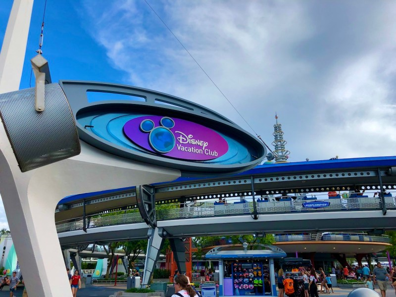 Disney Vacation Club Information Kiosk - Tomorrowland