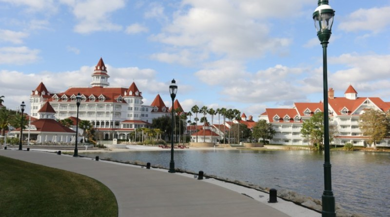 Grand Floridian Walking Path