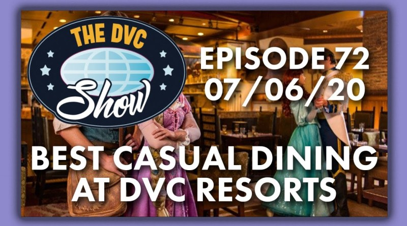 Best Casual Dining at DVC Resorts