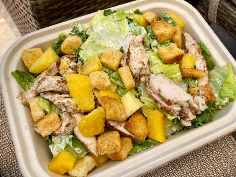 Island Caesar Salad w/ Chicken - Beach Pool Bar and Grill