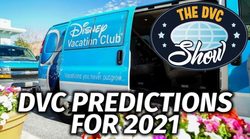 2021 Disney Vacation Club Predictions